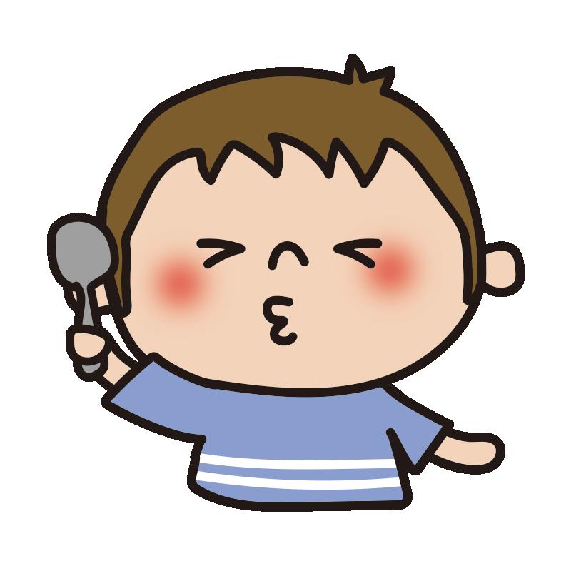 酸っぱい表情の男の子1