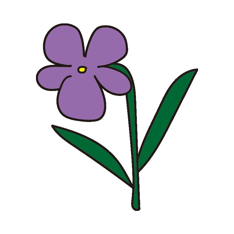 すみれの花1