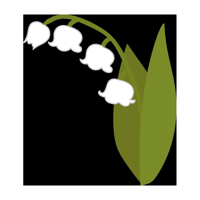 すずらんの花4