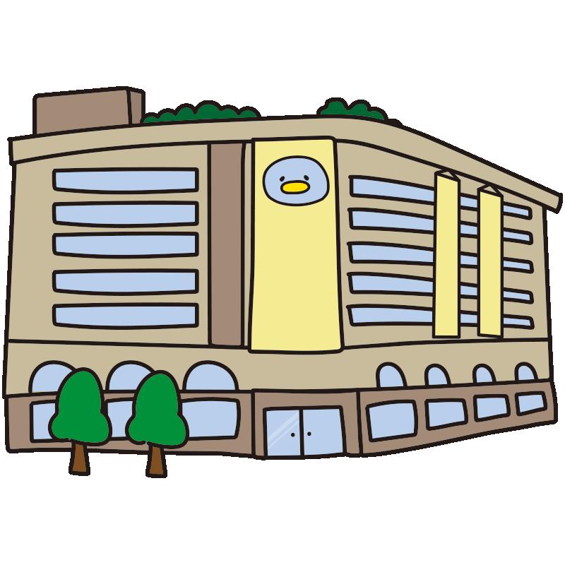 ペンギンマークの百貨店