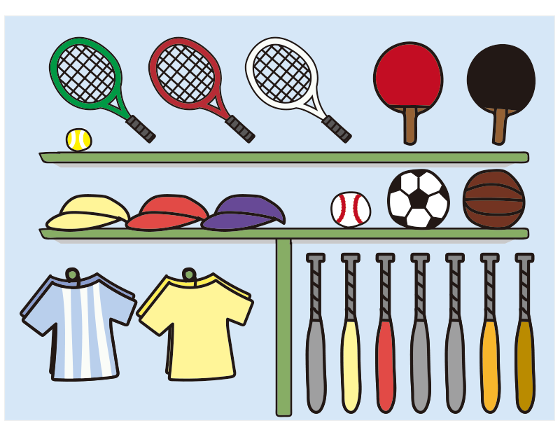 スポーツ用品店