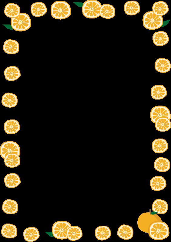 みかんの枠(縦)