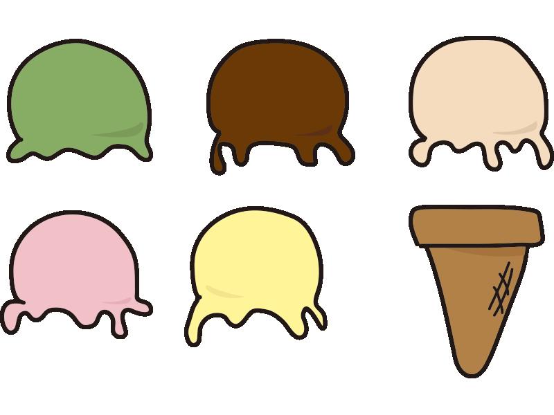 アイスクリームセット